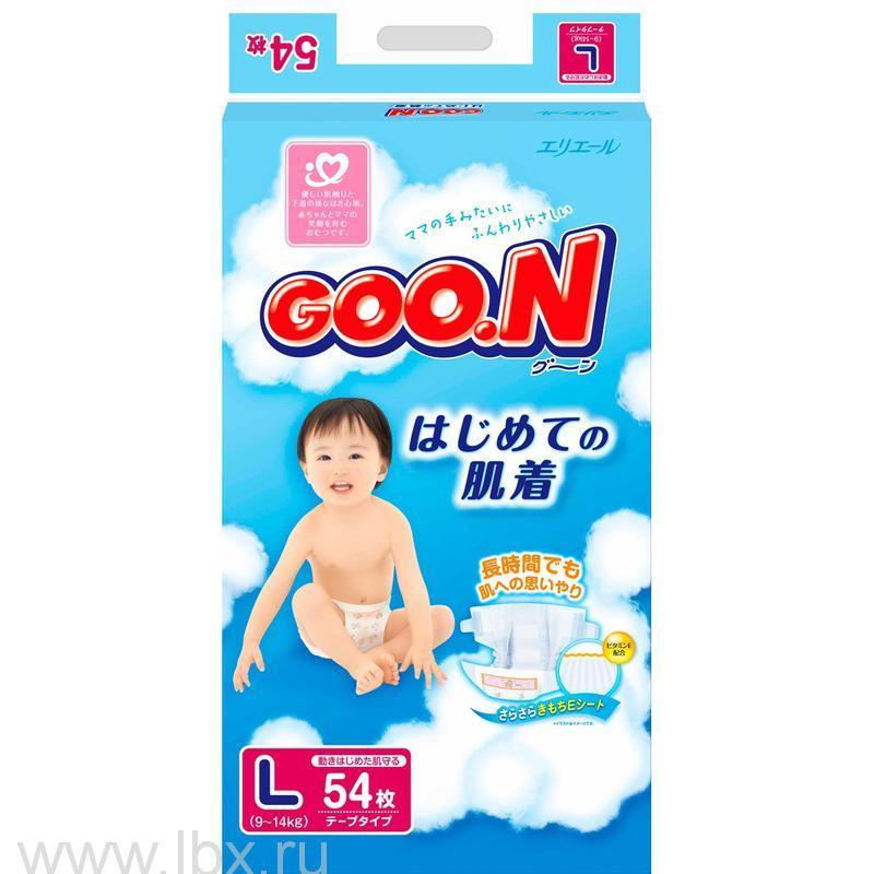 Подгузники Goo.n (Гу Н)9-14 кг