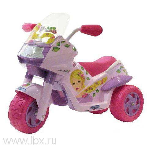 Электромотоцикл RAIDER PRINCESS, Peg-Perego (Пег-Перего)