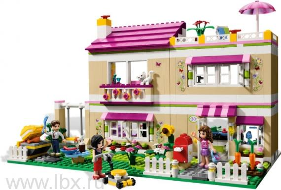 Домик Оливии Lego Friends (Лего Подружки)
