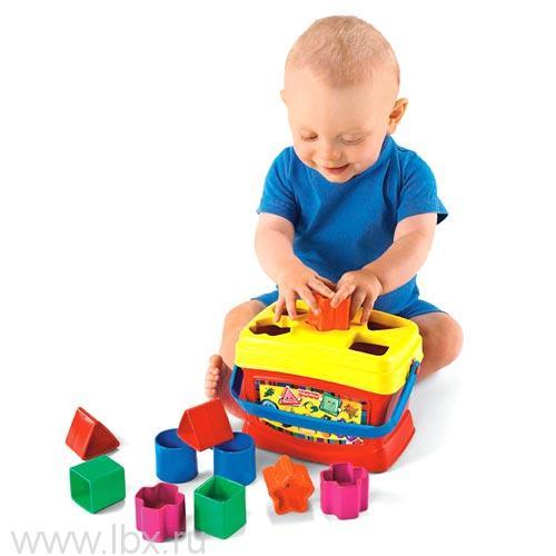 Сортер `Первые кубики малыша` Fisher-Price (Фишер-Прайс)