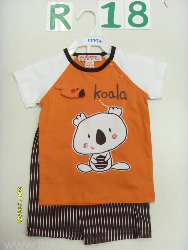 Комплект `Коала` (футболка и шорты) Олдос
