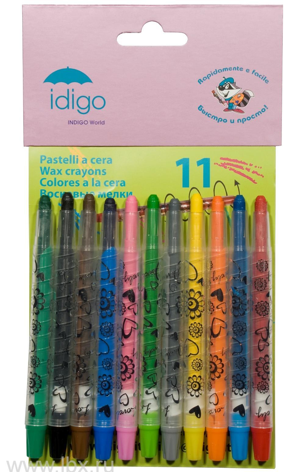 Восковые мелки, IDIGO (Идиго)