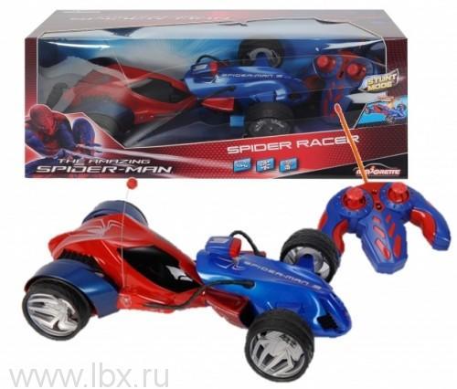 Автомобиль `Человек паук`на радиоуправлении Majorette
