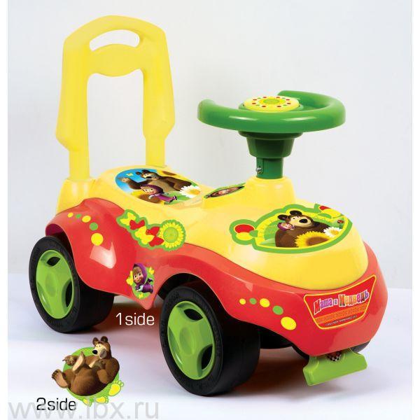 Машинка-каталка `Маша и Медведь` Bugati (Бугати)
