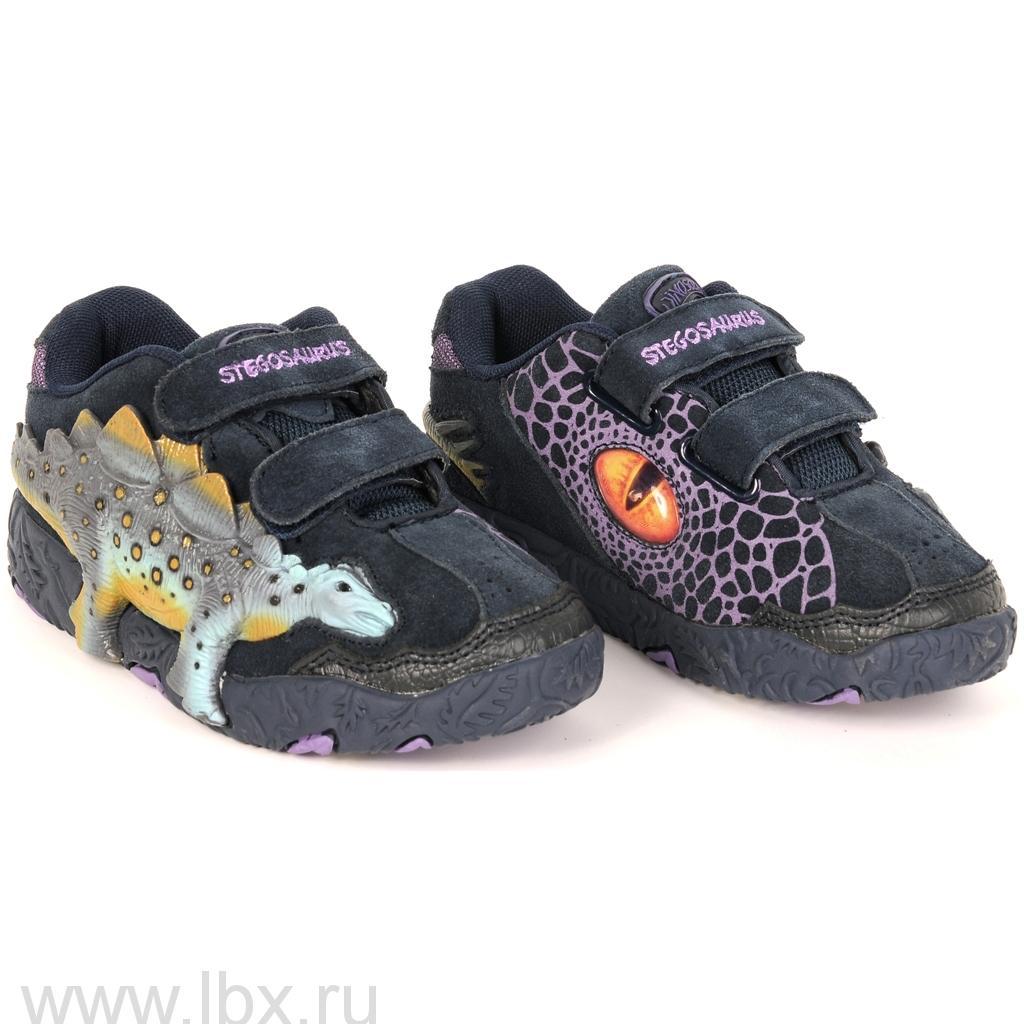 Кроссовки 3D Дино Стегозавр, Dinosoles (Диносолес)