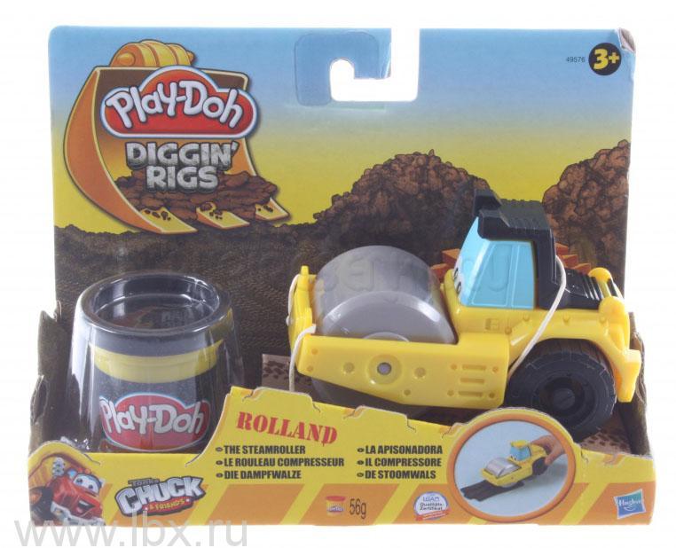 Игровой набор пластилина Play-Doh `Машинки для строительства`, Hasbro (Хасбро)