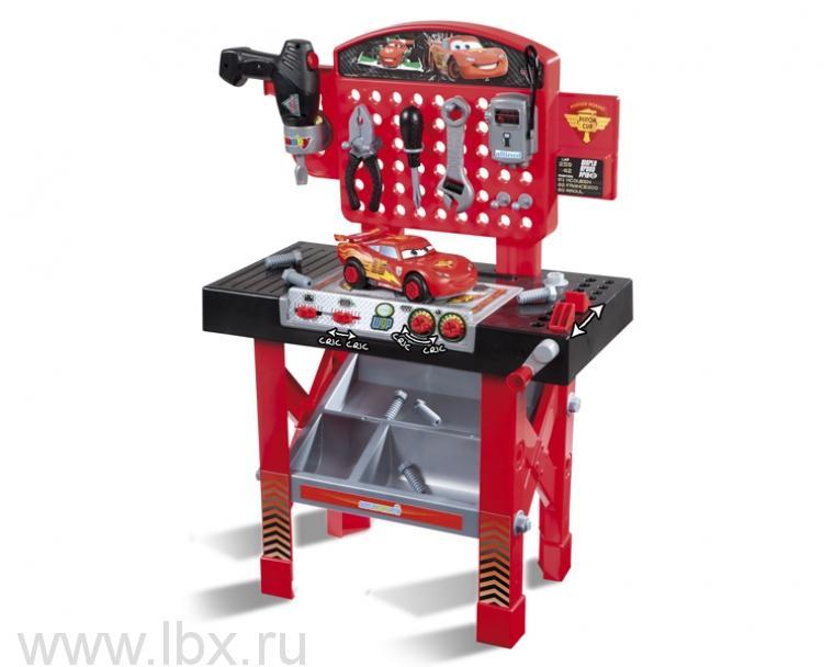 Ремонтная мастерская `Тачки 2 ` машинка МакКуин Smoby (Смоби)