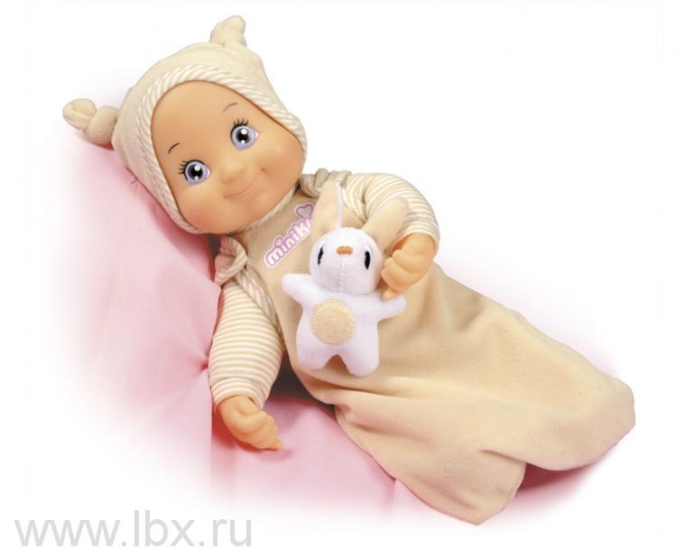 Кукла Minikiss с кроликом, Smoby (Смоби)