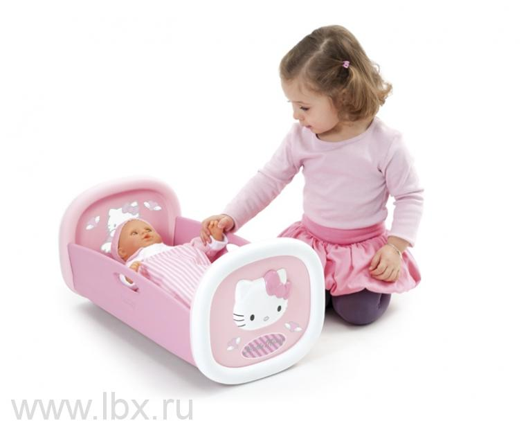 Колыбель для пупса Hello Kitty Smoby (Смоби)