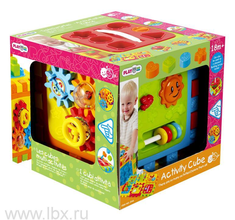 Развивающий центр `Активный куб` PlayGo (ПлейГоу)