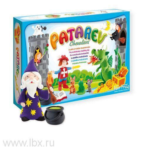 Волшебный пластилин Patarev `Рыцари`, SentoSphere (СентоСфер)