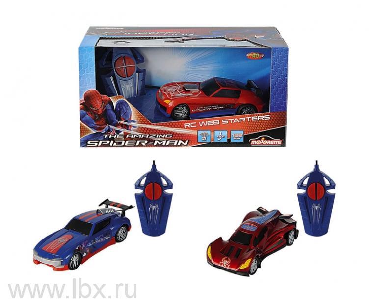 Радиоуправляемая игрушка Авто `Человек Паук`, Majorette (Маджорет)