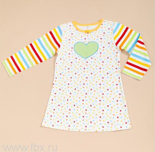 Ночная рубашка для девочки, коллекция `Карандаши`, Модамини