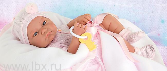 Кукла - младенец Палома Antonio Juans Munecas (Антонио Хуан Мунекас)
