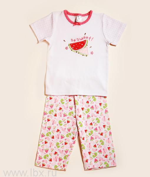 Пижама для девочки, коллекция `Арбуз`, Модамини