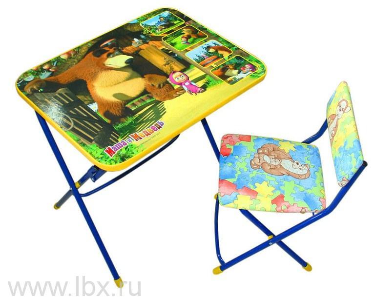 Набор детской мебели `Позвони мне. Маша и Медведь` , Nika (Ника)