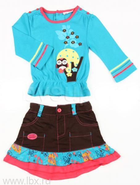 Комплект `Блузка и юбка` Teeny Tiny (Тини Тайни)