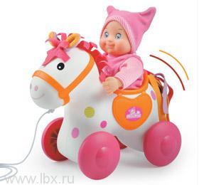 Лошадка для катания пупса Mini Kiss от Smoby (Смоби)