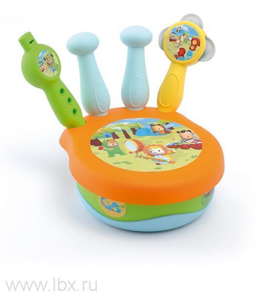 Набор музыкальных инструментов из серии Cotoons Smoby (Смоби)