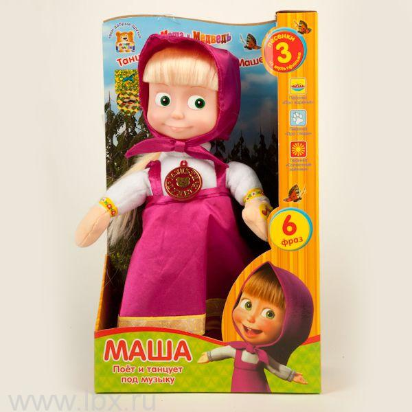 Мягкая игрушка `Маша танцует`, Мульти-Пульти