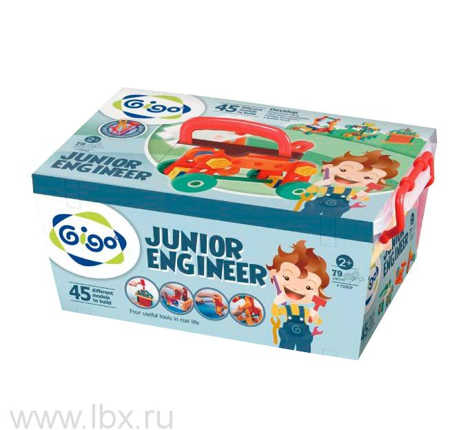 Конструктор `Юный инженер` (`Junior Engineer`) 7330P, `Gigo` (`Гиго`)