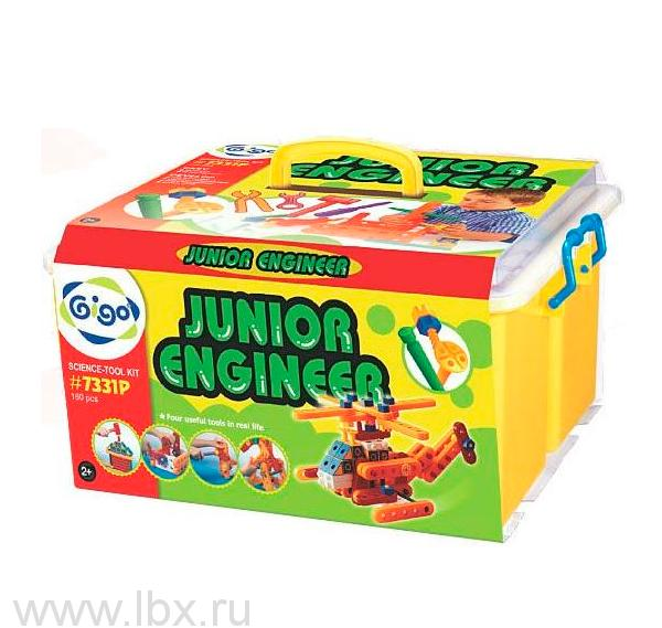 Конструктор `Юный инженер 2` (`Junior Engineer`) 7331P, `Gigo` (`Гиго`)