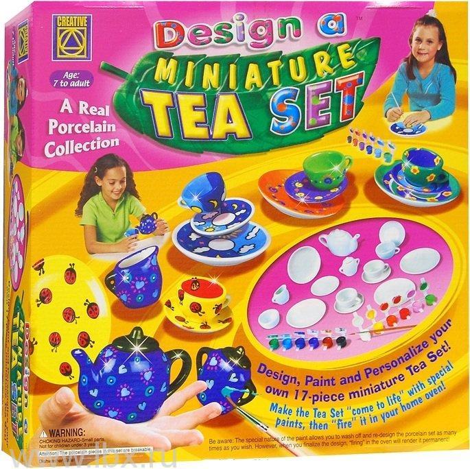 Набор для творчества `Украшаем чайный серзвиз`, Creative