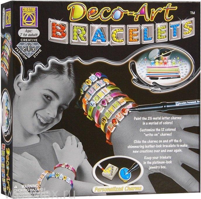 Набор для творчества `Браслеты арт-деко`, Creative