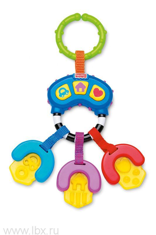 Музыкальная погремушка-прорезыватель `Ключики`, Fisher-Price (Фишер-Прайс)