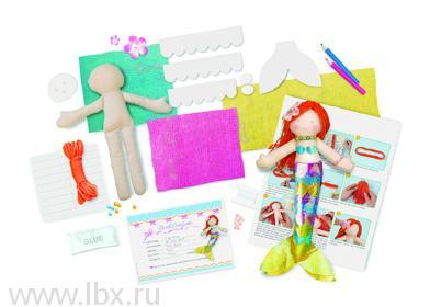 Кукла своими руками `Русалочка`, 4М