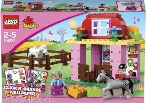 Конюшня Lego Duplo (Лего Дупло)