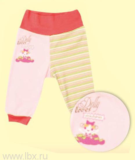 Штанишки для девочки, AlbiNat (АльбиНат)- увеличить фото