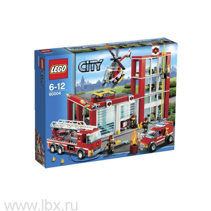 Пожарная часть Lego City (Лего Город)