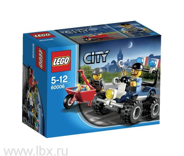 Полицейский квадроцикл Lego City (Лего Город)